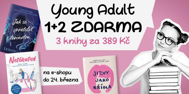 Balíček YOUNG ADULT hitů za 389 Kč