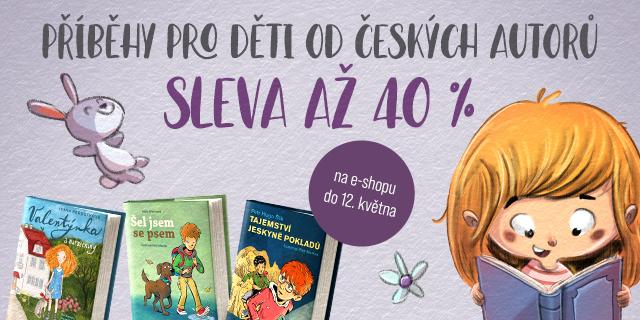 Příběhy pro děti od českých autorů | Sleva až 40 %