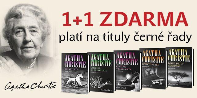 Agatha Christie - akce 1+1 zdarma