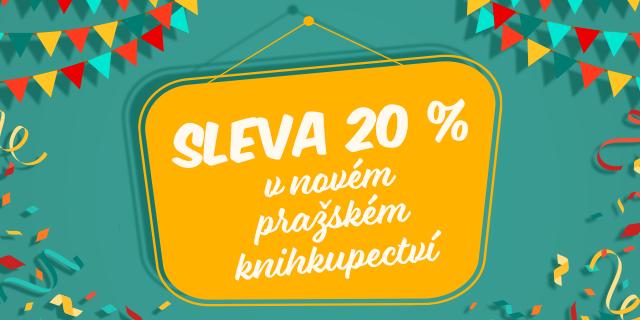 Oslavte s námi nové pražské knihkupectví | SLEVA 20 % NA BOŘISLAVCE