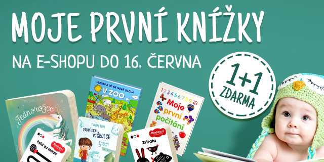 Moje první knížky | 1+1 na čtení a prohlížení pro děti