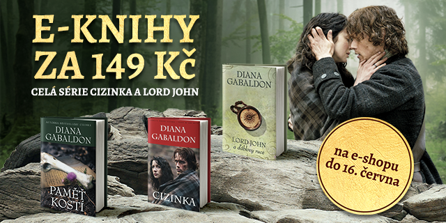 E-knihy Diany Gabaldon   Cizinka a Lord John za 149 Kč