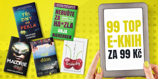 Sleva na e-booky   99 TOP e-knih za 99 Kč