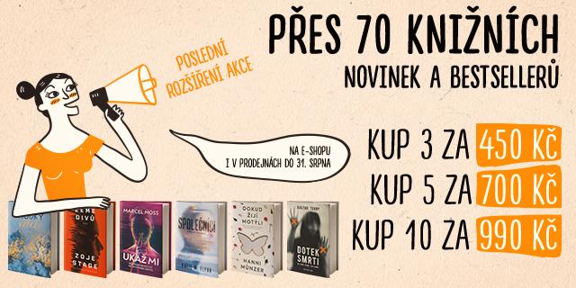 ZÁVISLÁCKÁ NÁKUPNÍ HOREČKA   Až 10 knížek za 990 Kč