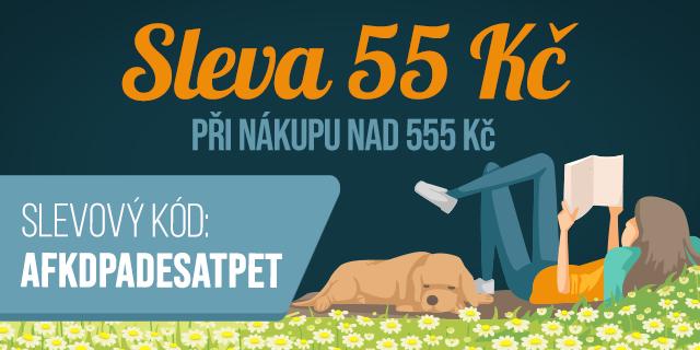 Číslem roku je 5   Sleva 55 Kč při nákupu nad 555 Kč