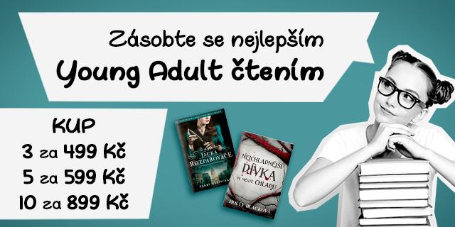 Doplň si zásobu Young Adult hitů   10 knížek za 899 Kč!