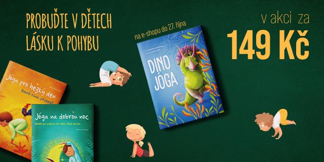 Jóga pro dětičky i dinousauříčky | Pouze za 149 Kč!