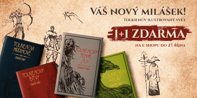 Váš nový milášek!   Tolkienův ilustrovaný svět 1+1 ZDARMA