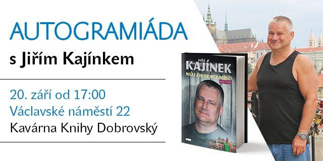 Autogramiáda s Jiřím Kajínkem