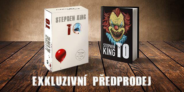 Exkluzivní předprodej jubilejního vydání Kingova hororu TO na Václavském náměstí