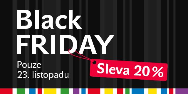 Black Friday na e-shopu a v knihkupectvích Knihy Dobrovský