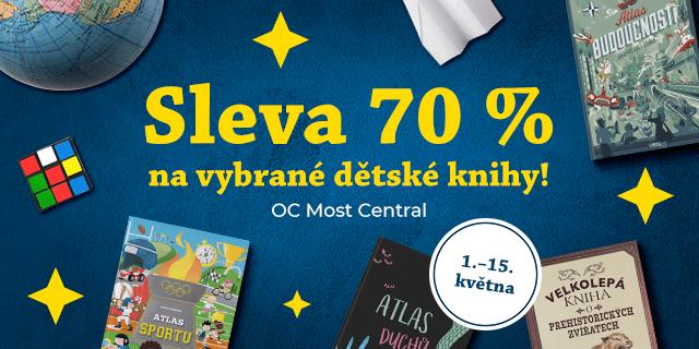 MOST: Sleva 70 % na vybrané dětské knížky