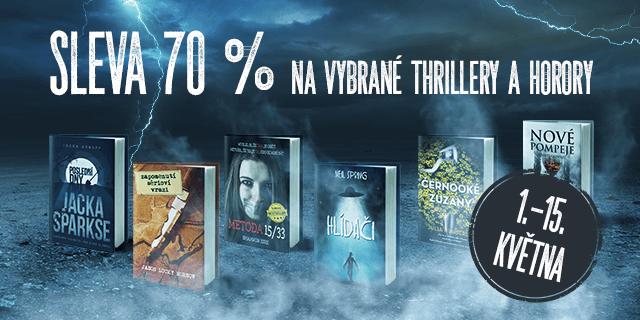 VIVO! HOSTIVAŘ: Sleva 70 % na vybrané thrillery