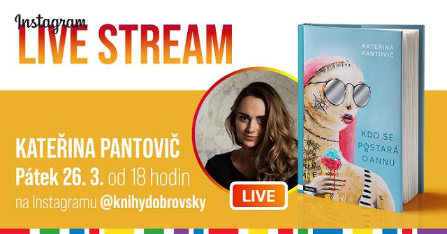 Live stream Kateřina Pantovič