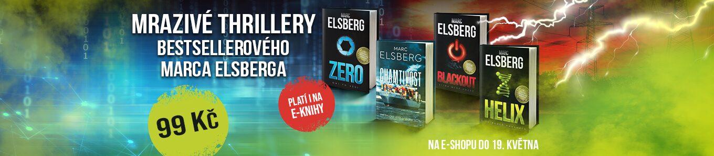 Mrazivé thrillery bestsellerového Marca Elsberga   Každý za 99 Kč