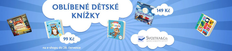 Dětské knížky od Svojtky   Vše za 99 a 149 Kč