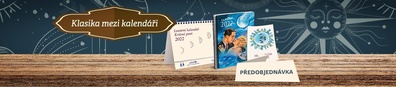 Lunární kalendář Krásné paní s publikací 2022