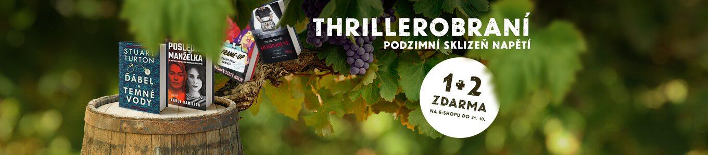 THRILLEROBRANÍ | Podzimní sklizeň napětí 1+2 ZDARMA