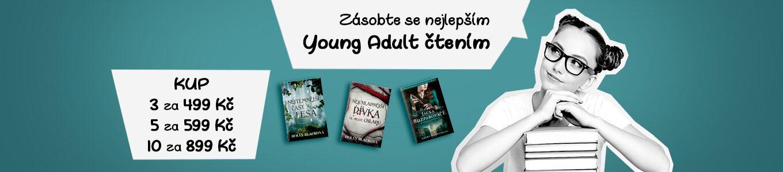 Doplň si zásobu Young Adult hitů | 10 knížek za 899 Kč!