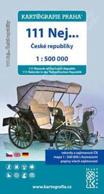 111 nej České republiky/1:500 tis.(tematická mapa)