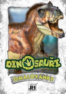 Dinosauři - Omalovánky A5