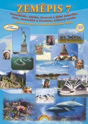Zeměpis 7 - Asie, Afrika, Amerika, Austrálie a Oceánie, Antarktida, Čtení s porozuměním - PhDr. prof. Petr Chalupa, Mgr. Jakub Cimala