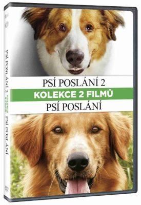 Psí poslání + Psí poslání 2 kolekce - DVD