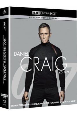 Daniel Craig JAMES BOND kolekce 4 filmy - 4K/UHD + BD