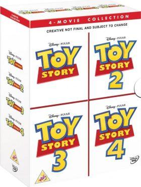 Toy Story: Příběh hraček kolekce 1.-4. 4DVD - DVD