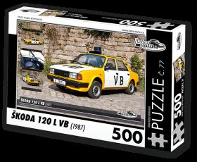 Puzzle ŠKODA 120 L VB (1987) - 500 dílků