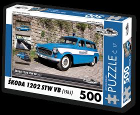 Puzzle ŠKODA 1202 STW VB (1965) - 500 dílků
