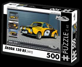 Puzzle ŠKODA 130 RS (1977) - 500 dílků
