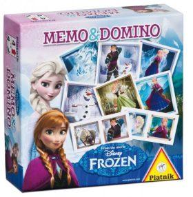 Pexeso a Domino - Ledové království