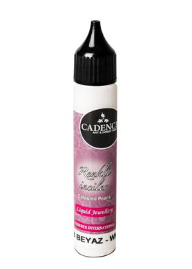 Cadence Tekuté perly - bílá 25 ml
