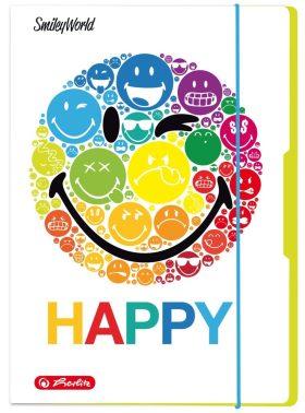 Desky s gumou A3 - Happy Smiley