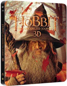 Hobbit Neočekávaná cesta - steelbook - Blu-ray