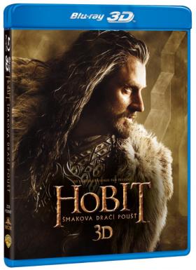 Hobit: Šmakova dračí poušť 4BD (3D+2D) - Blu-ray