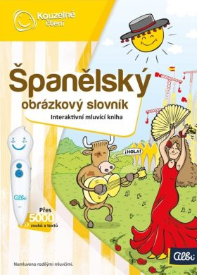Kouzelné čtení - Španělský obrázkový slovník