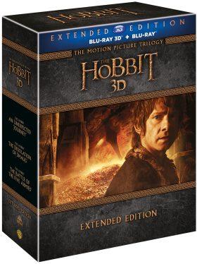Hobit kolekce 1.-3. 15BD (3D+2D) - prodloužené verze - Blu-ray