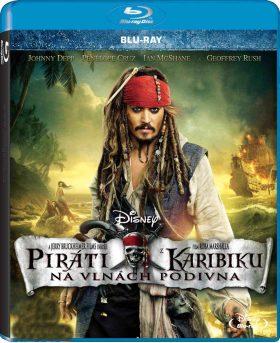 Piráti z Karibiku: Na vlnách podivna BD - Blu-ray