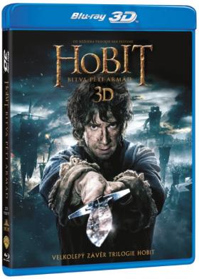Hobit: Bitva pěti armád 4BD (3D+2D) - Blu-ray