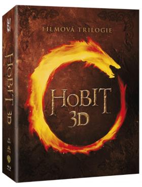 Hobit kolekce 1.-3. 12BD (3D+2D) - Blu-ray