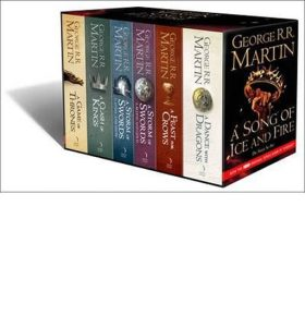 Song of Ice and Fire Box Set - George R.R. Martin