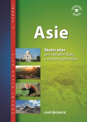 Asie - Školní atlas pro základní školy a víceletá gymnázia