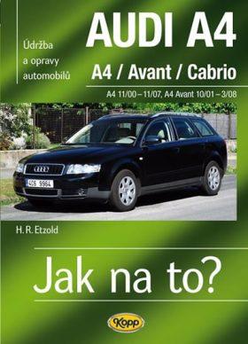 AUDI A4/Avant/Cabrio - A4 11/00-11/07 - A4 Avant 10/01-3/08 > Jak na to? [113] - Etzold Hans-Rudiger