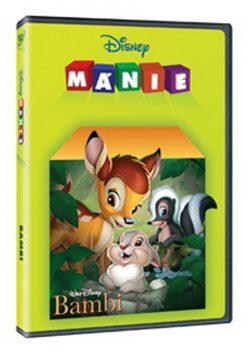 Bambi DE DVD - Edice Disney mánie