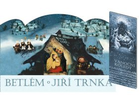 Betlém + Vánoční koledy s notami - Jiří Trnka