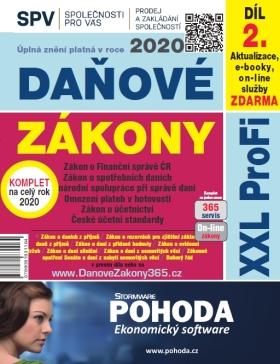 Daňové zákony 2020 ČR XXL ProFi (díl druhý) - autorů kolektiv - e-kniha