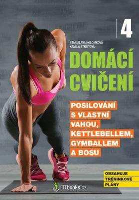 Domácí cvičení 4 - Posilování s vlastní vahou, kettlebellem, gymballem a BOSU - Stanislava Holomková, Kamila Štreitová