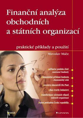 Finanční analýza obchodních a státních organizací - Miroslav Máče - e-kniha